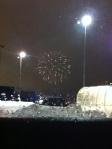 Vid ikea parkering mot finska nyår